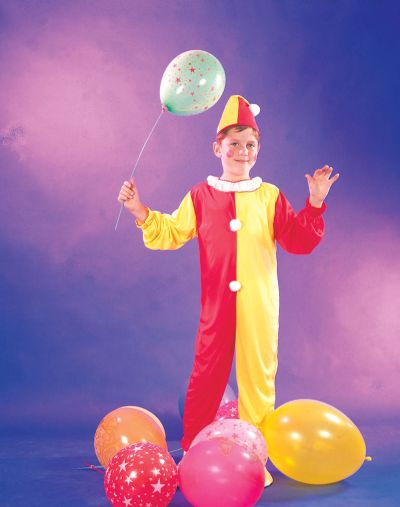Childs Clown Costume Thumbnail 1