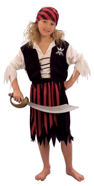 Pirate Girl Costume Thumbnail 1