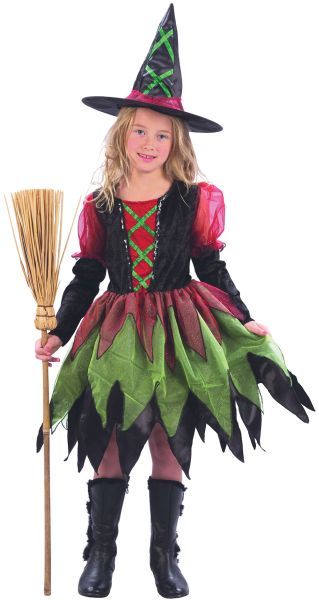 Childs Fairy Witch with Tutu Costume Thumbnail 1
