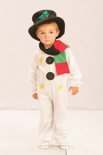 Childs Snowman Costume Thumbnail 1