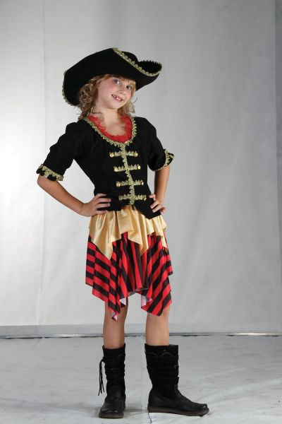 Childs Buccaneer Sweetie Costume Thumbnail 1