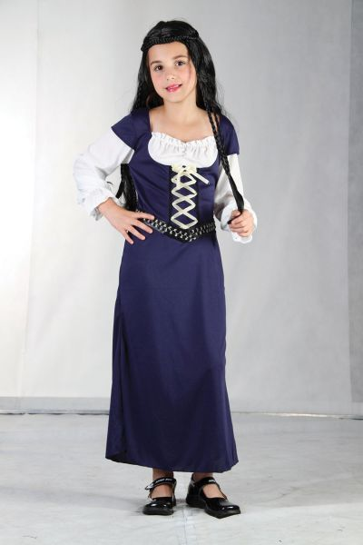 Childs Maid Marion Costume Thumbnail 1