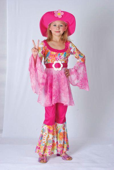 Childs Hippy Diva costume Thumbnail 1