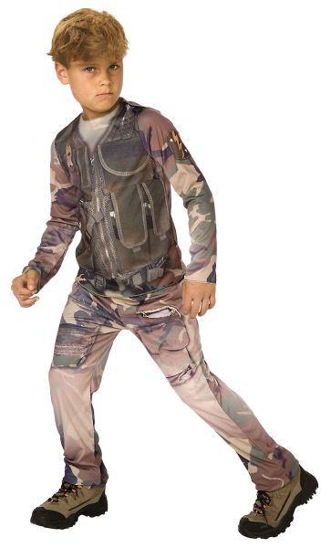 Childs Soldier 3D Costume Thumbnail 1