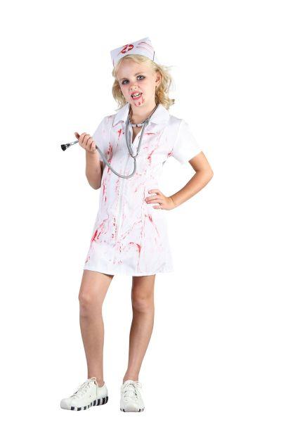 Childs Mad Nurse costume Thumbnail 1