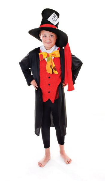 Childs Mad Hatter Costume Thumbnail 1