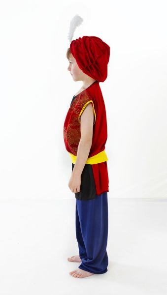 Childs Arabian Boy Costume Thumbnail 2