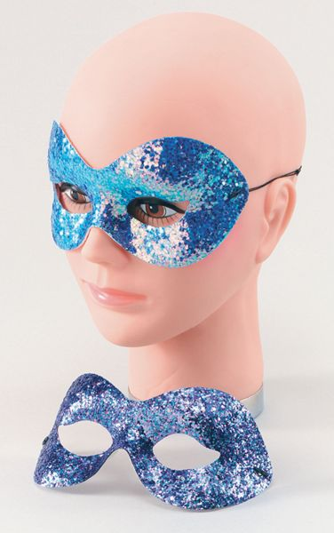 Sparkle Glitter Domino Eye Mask Thumbnail 1
