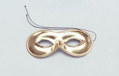 Domino Mask. Gold Thumbnail 1