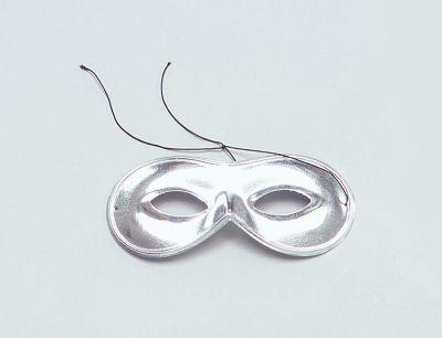 Domino Mask. Silver Thumbnail 1