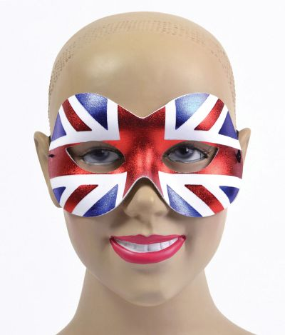 Union Jack Mask. Female Thumbnail 1