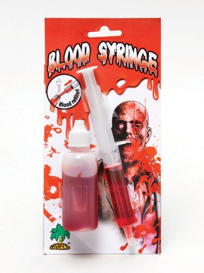 Syringe With Blood Refill Thumbnail 1