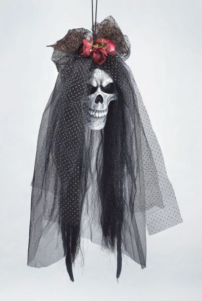 Skull Bride Head Prop Thumbnail 1