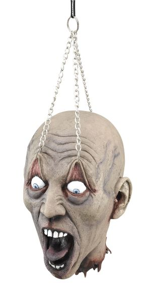 Hanging Dead Head With Chain Prop Thumbnail 1