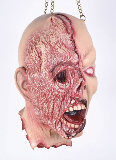 Burnt Face Hanging Head Prop Room Decoration  Thumbnail 1