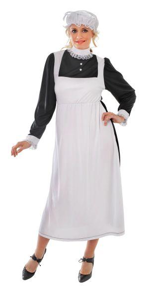 Adult Victorian Maid Costume Thumbnail 1