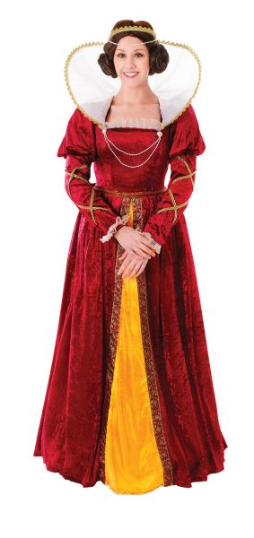 Adults Queen Elizabeth Costume Thumbnail 1