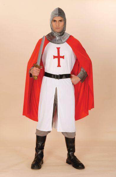 ST George Adult Knight Crusader Costume Thumbnail 1