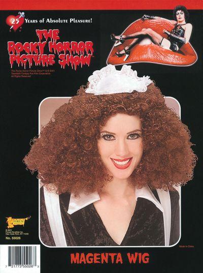 Licensed ROCKY HORROR Magenta Wig Thumbnail 1