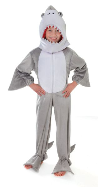 Childs Plush Shark Costume Thumbnail 1