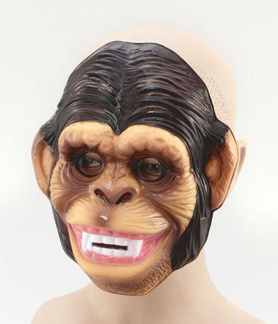 Plastic Monkey Mask Thumbnail 1
