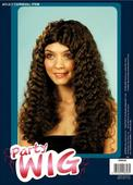 Frizzy Wig Long.Brown
