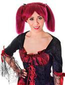 Steampunk Wig Burgundy