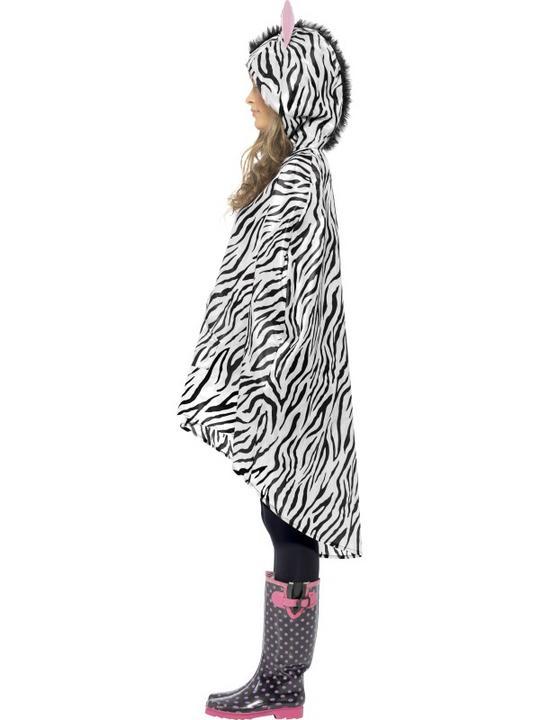 Zebra Party Poncho Thumbnail 4