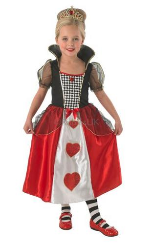 Childs Queen Of Hearts Costume Thumbnail 1