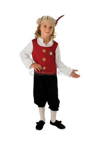 Child Tudor Boy Costume Thumbnail 1