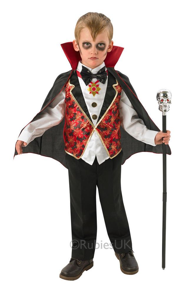 Childs Dracula Costume