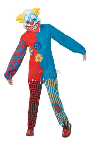 Childs Scary Clown Costume Thumbnail 1