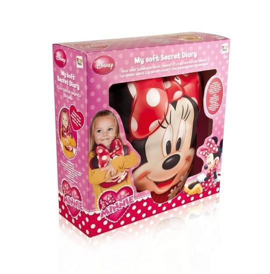 Disney Minnie My Soft Secret Diary Thumbnail 2