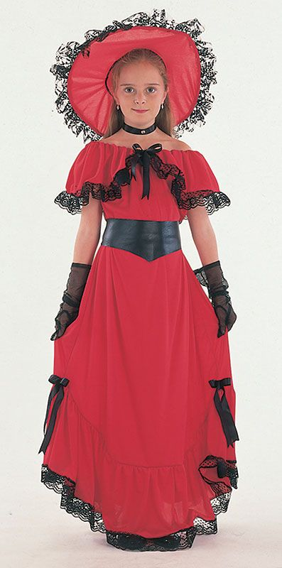 Childs Scarlet OHara Costume