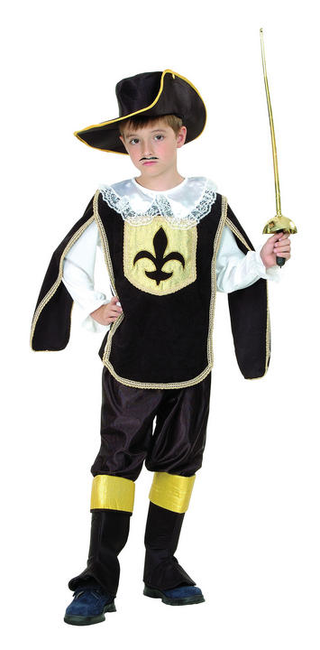 Childs Musketeer Boy Costume Thumbnail 2