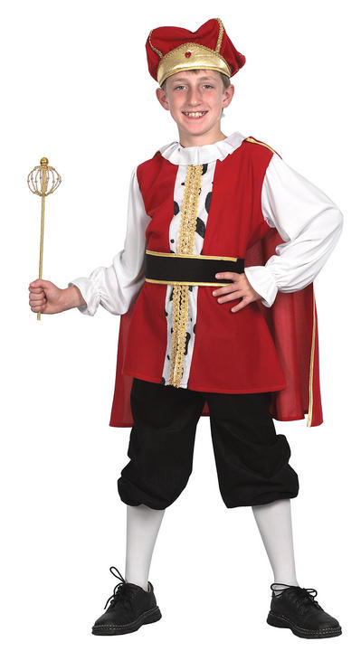 Childs Medieval King Costume Thumbnail 1