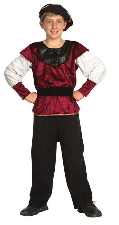 Childs Renaissance Prince Costume Thumbnail 2