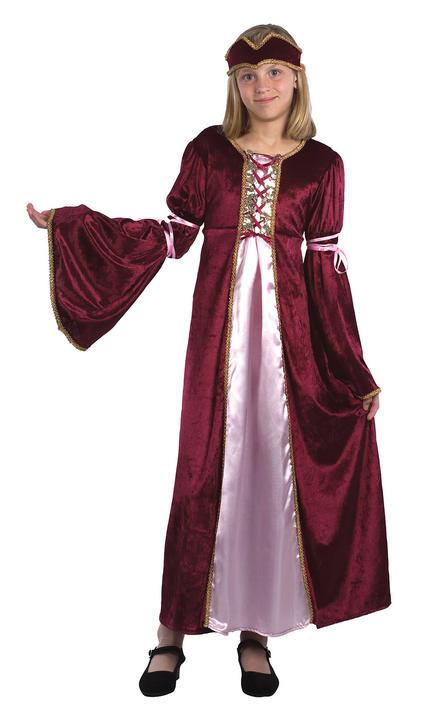 Childs Renaissance Princess Costume Thumbnail 1
