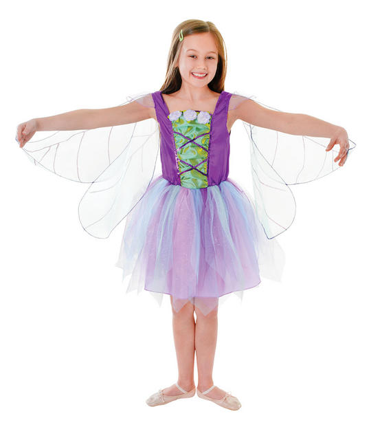 Childs Winged Fairy Costume Thumbnail 1