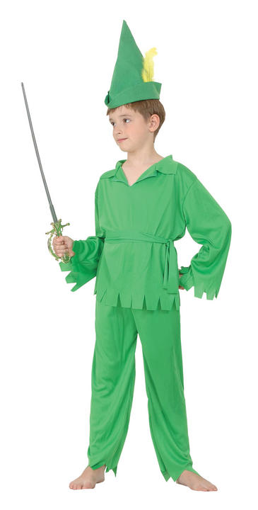 Childs Peter Pan/Robin Hood Costume Thumbnail 1