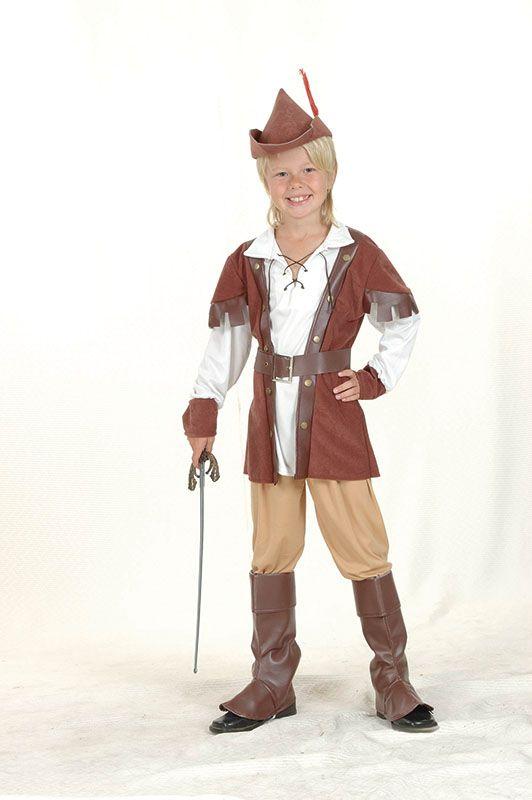 Robin Hood Boy Deluxe Costume