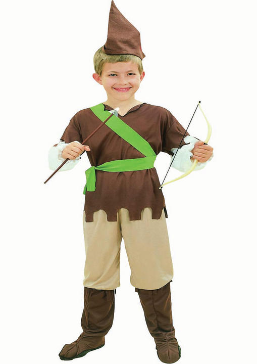 Childs Budget Robin Hood Costume Thumbnail 1