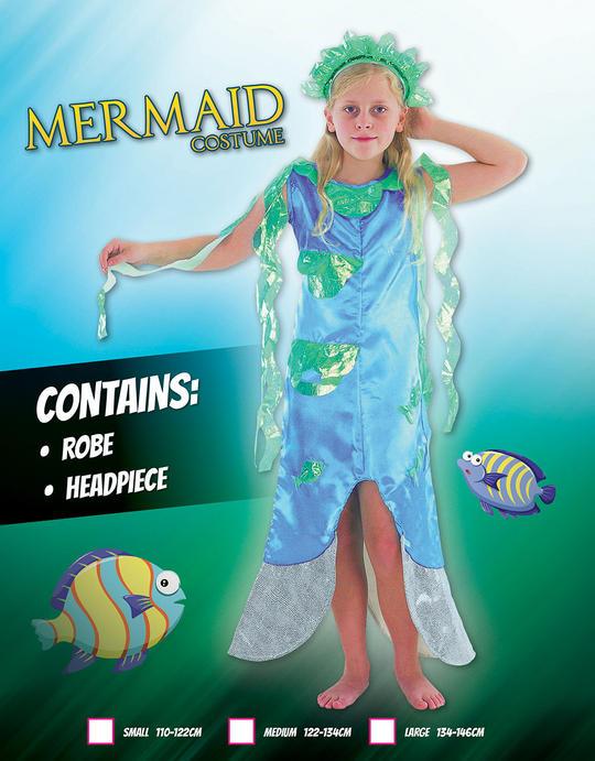 Childs Mermaid costume Thumbnail 1