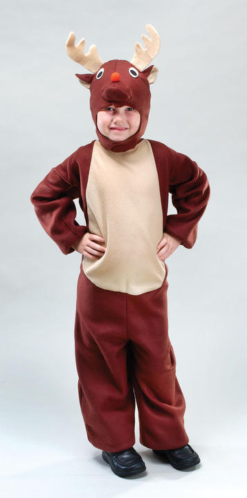 Childs Reindeer Costume Thumbnail 1