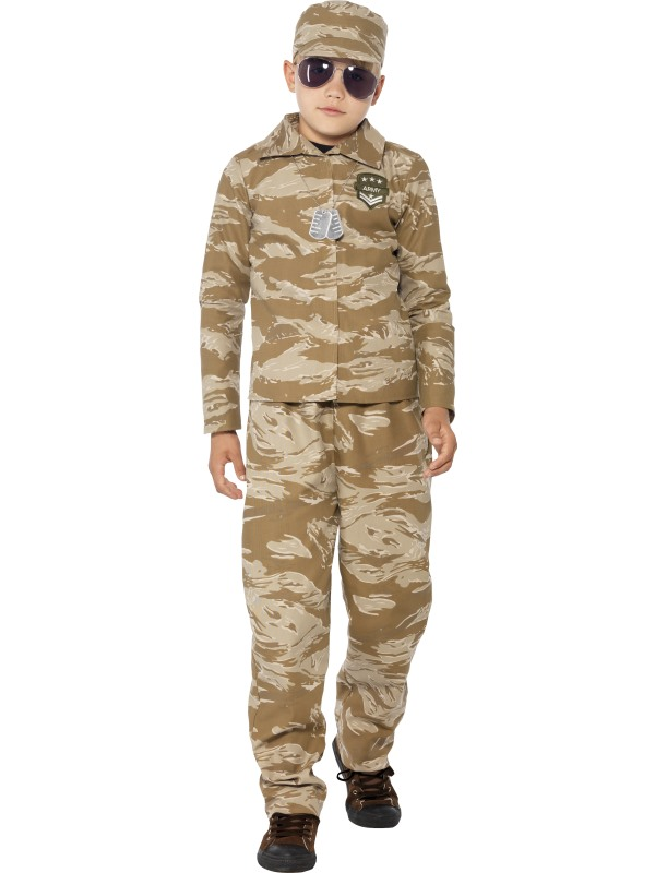 Boys Desert Army Costume