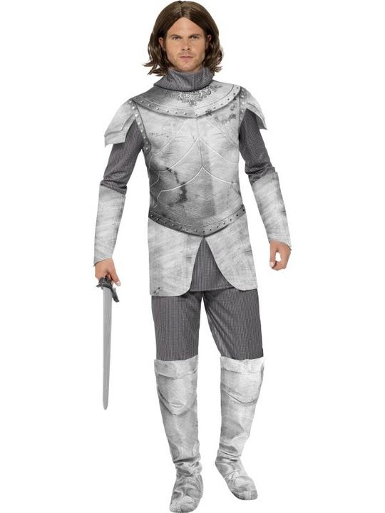 Medieval Knight Deluxe Costume Thumbnail 1