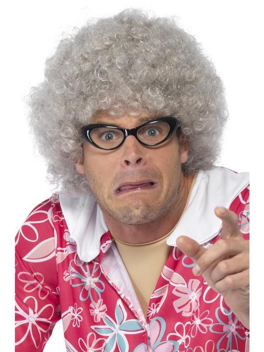 Granny Perm Wig Thumbnail 2