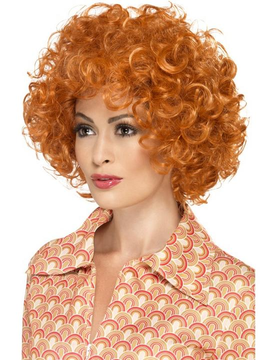 Ginger Curly Afro Wig Thumbnail 2