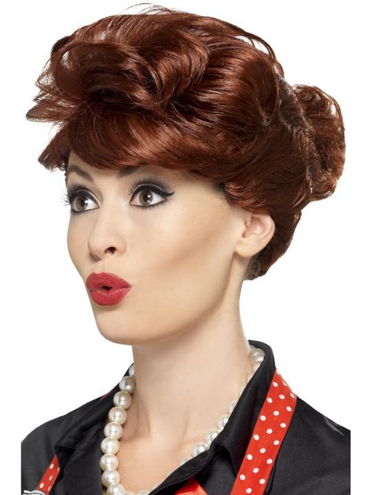 50's Housewife Wig Thumbnail 1