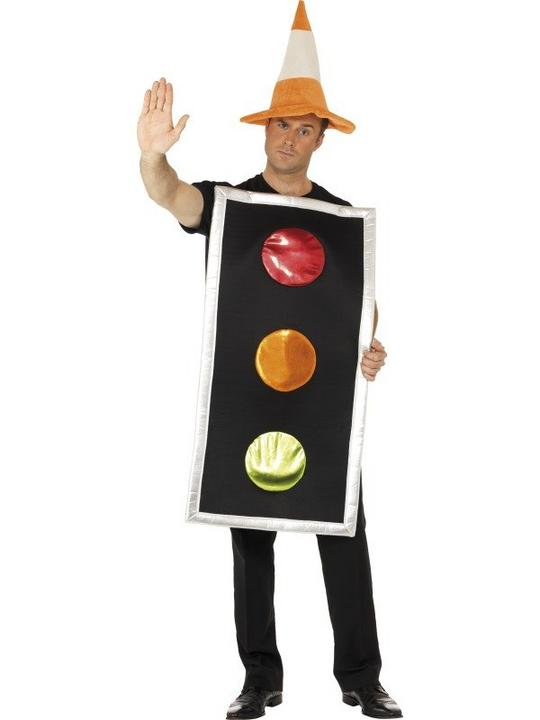 Traffic Light Fancy Dress Costume Thumbnail 1